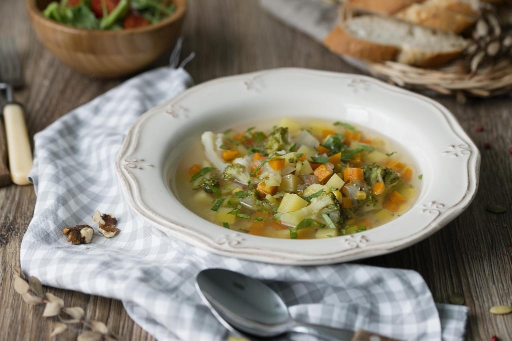 рецепт супа овощного 7 месяцев