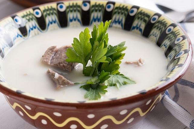 Суп из баранины по-турецки - фото блюда